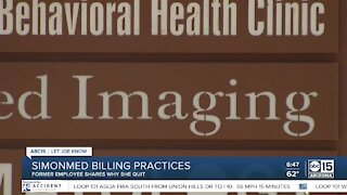 Former SimonMed employee speaks out about billing practices
