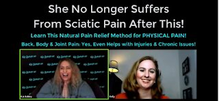 Natural Pain Relief For Back, Body & Joint Pain: Helps Injuries, Chronic Issues & Sciatic Pain Too