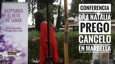 Conferencia de la Dra Natalia Prego en Marbella desde el Cortijo de los caballos