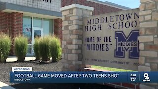 Middletown High School football game moved