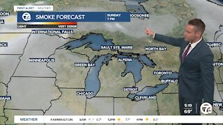 Smoke from wildfires could reach metro Detroit by this weekend