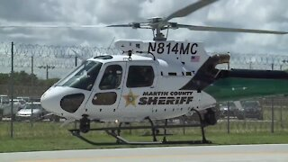 Martin County Sheriff's Office adds new helicopter to fight crime