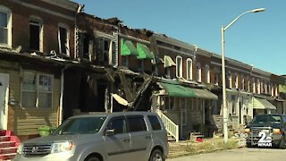 """Six homes were damaged Thursday in a Baltimore fire, which neighbors say was """"100% avoidable"""""""