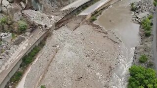 Video shows latest from Glenwood Canyon after mudslides