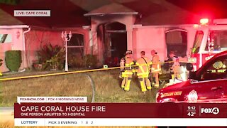 Three injured in Cape Coral house fire