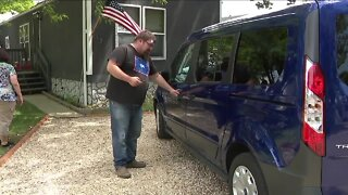 Wyoming family receives new van and restored hope after contacting Denver7 Gives