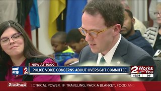 Police voice concerns about oversight committee