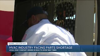 Parts shortage hits HVAC industry