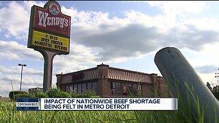 Impact of nationwide beef shortage being felt in metro Detroit