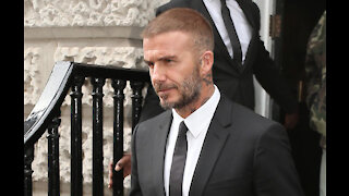 David Beckham to invest in cannabis skincare company