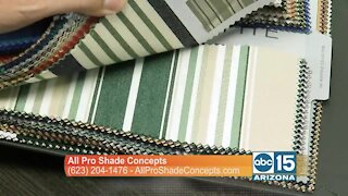 All Pro Shade Concepts has shade solutions for your home