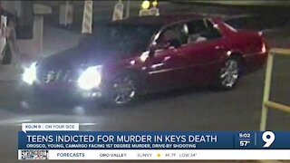 Three teens indicted on Forrest Keys murder charges