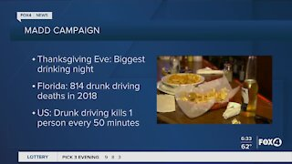 Mothers against drunk driving campaign