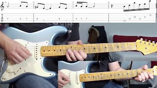 House of the Rising Sun Guitar-Cover Solo Tabs Chords Lesson