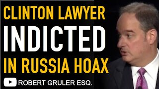 Clinton Lawyer Michael Sussmann Indicted for Lying to FBI in Russian Collusion Hoax