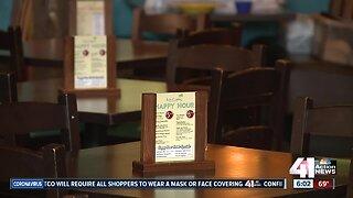 Social distancing in restaurants