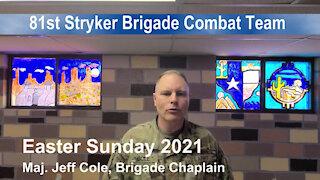 Task Force Raven Easter Message 2021