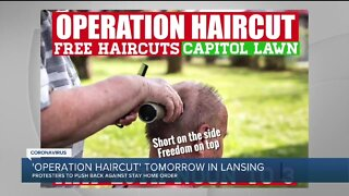 Operation Haircut protest set for Lansing Capitol lawn Wednesday