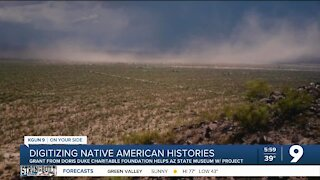 Arizona State Museum works to digitize Native American oral histories
