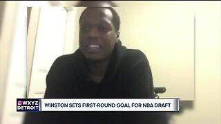 Cassius Winston said he leaves MSU as a champion
