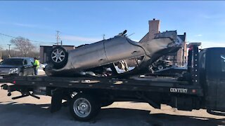 Child ejected, adult injured in early morning I-94 crash, WisDOT says