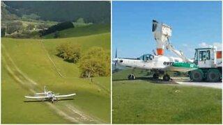 Uvanlig metode: fly gjødsler jorde
