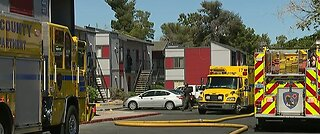 Dozens displaced by 3-alarm fire