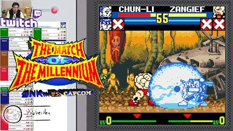 (NeoGeo Pocket Color) SNK vs. Capcom MotM - 31 - Team Mode - Go Sakura! - Lv Gamer