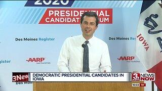 Democratic Presidential Candidates Campaigning in Iowa