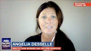 Angelia Desselle has full body convulsions after COVID-19 vaccine :EPISODE SEGMENT