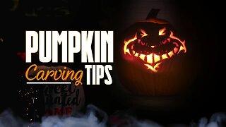 SIMPLY SWEET Pumpkin Carving Tips