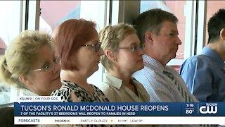 Ronald McDonald House reopens