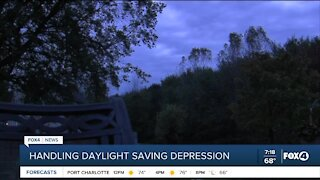 Daylight savings time and depression