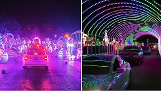 The World's Largest Drive-Thru Light Show Is Now Open In Atlanta & OMG!