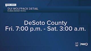 DeSoto County DUI detail