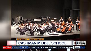 SCHOOL SHOUTOUT: Cashman Middle School (Friday)