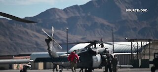 Nellis airmen rescue 6 hikers trapped on mountain