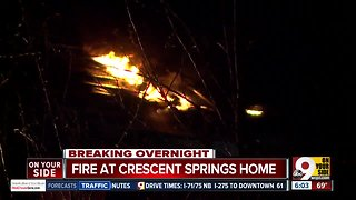 Wind gusts fueled fire that destroyed Crescent Springs home
