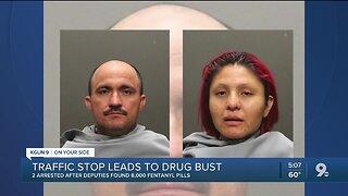 Traffic stop leads to drug, gun arrests