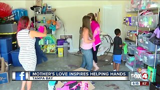 Tampa mom helps children in need