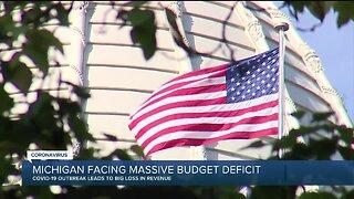 Michigan facing massive budget deficit