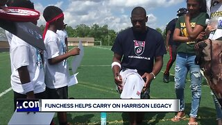 Funchess helping to carry on Harrison Football legacy