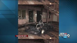 Three people displaced after apartment fire