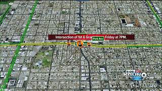 Total closure of Grant and First this weekend