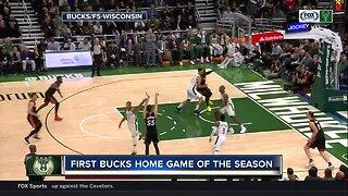 Bucks fever runs high at season home opener