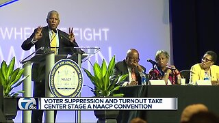 Voter suppression and turnout take center stage at NAACP Convention