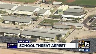 Juvenile arrested after Buckeye school threat