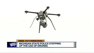 How Michigan State Police are using drones