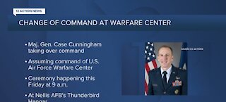 Change of command at U.S. Air Force Warfare Center