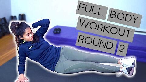 Full Body Under 15 Mins (Round 2)